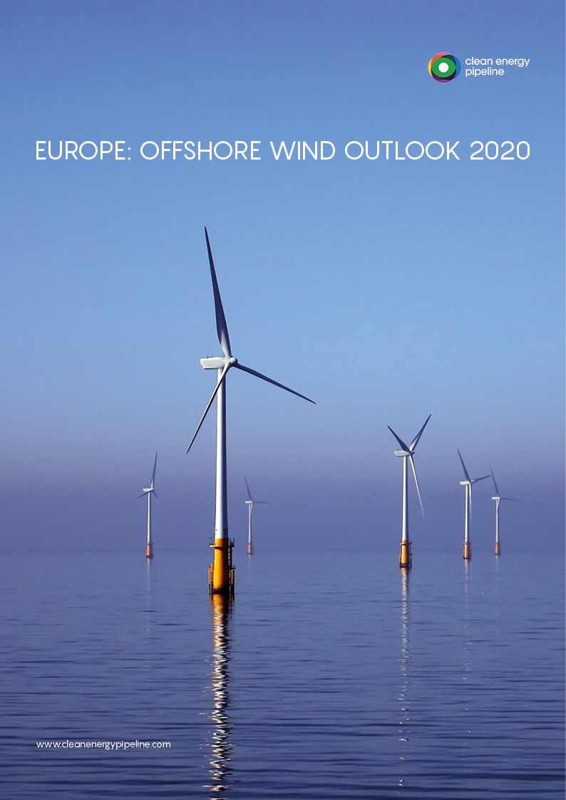 Market report cover image: Europe: Offshore Wind Outlook 2020