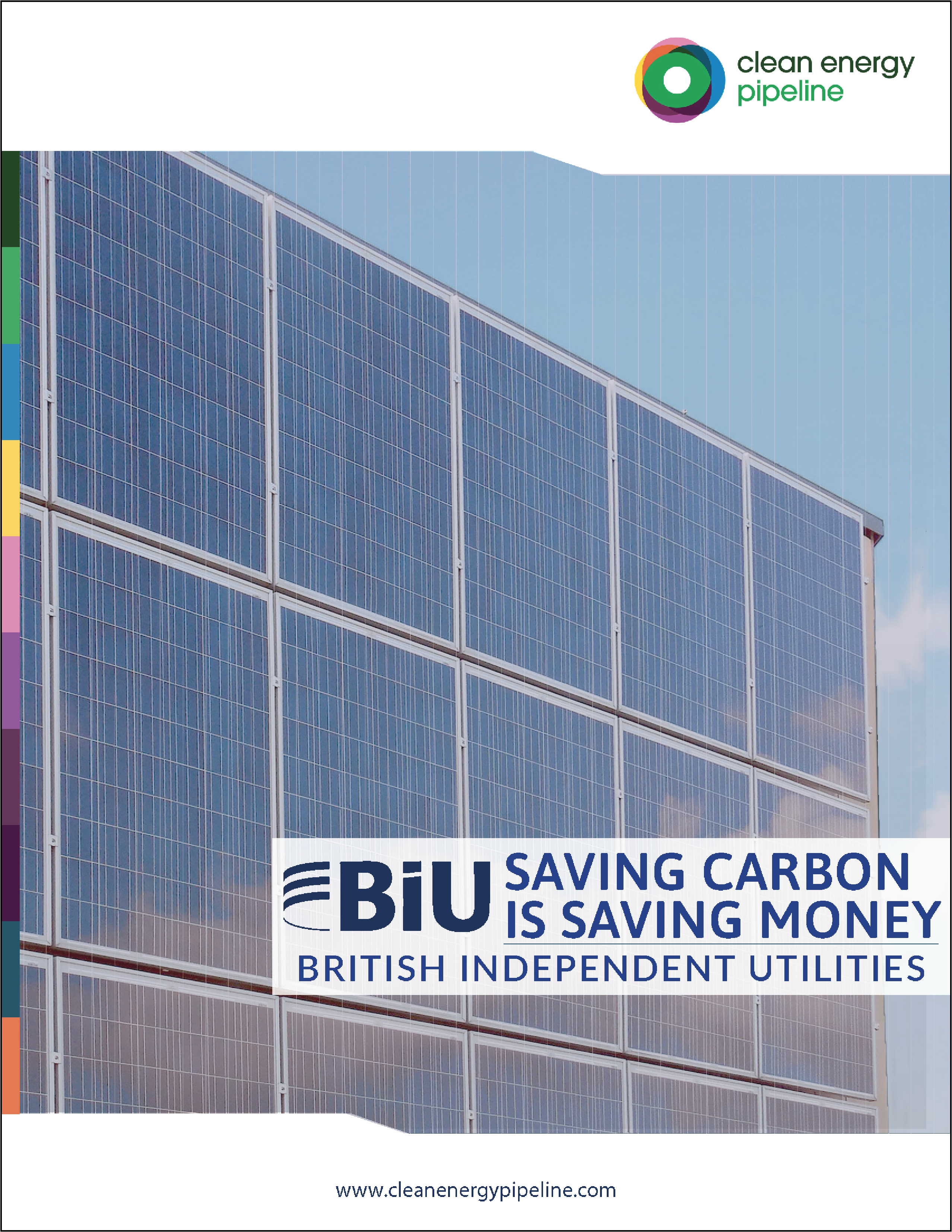 Market report cover image: British Independent Utilities: Saving carbon is saving money