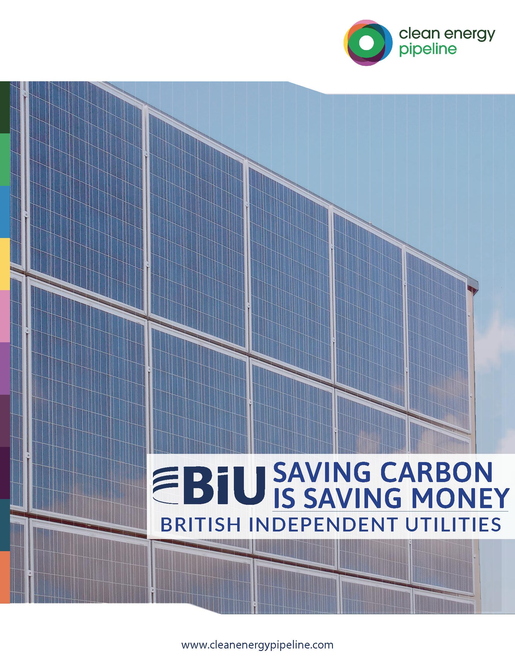 Market report cover image: British Independent Utilities: Saving carbon is saving money