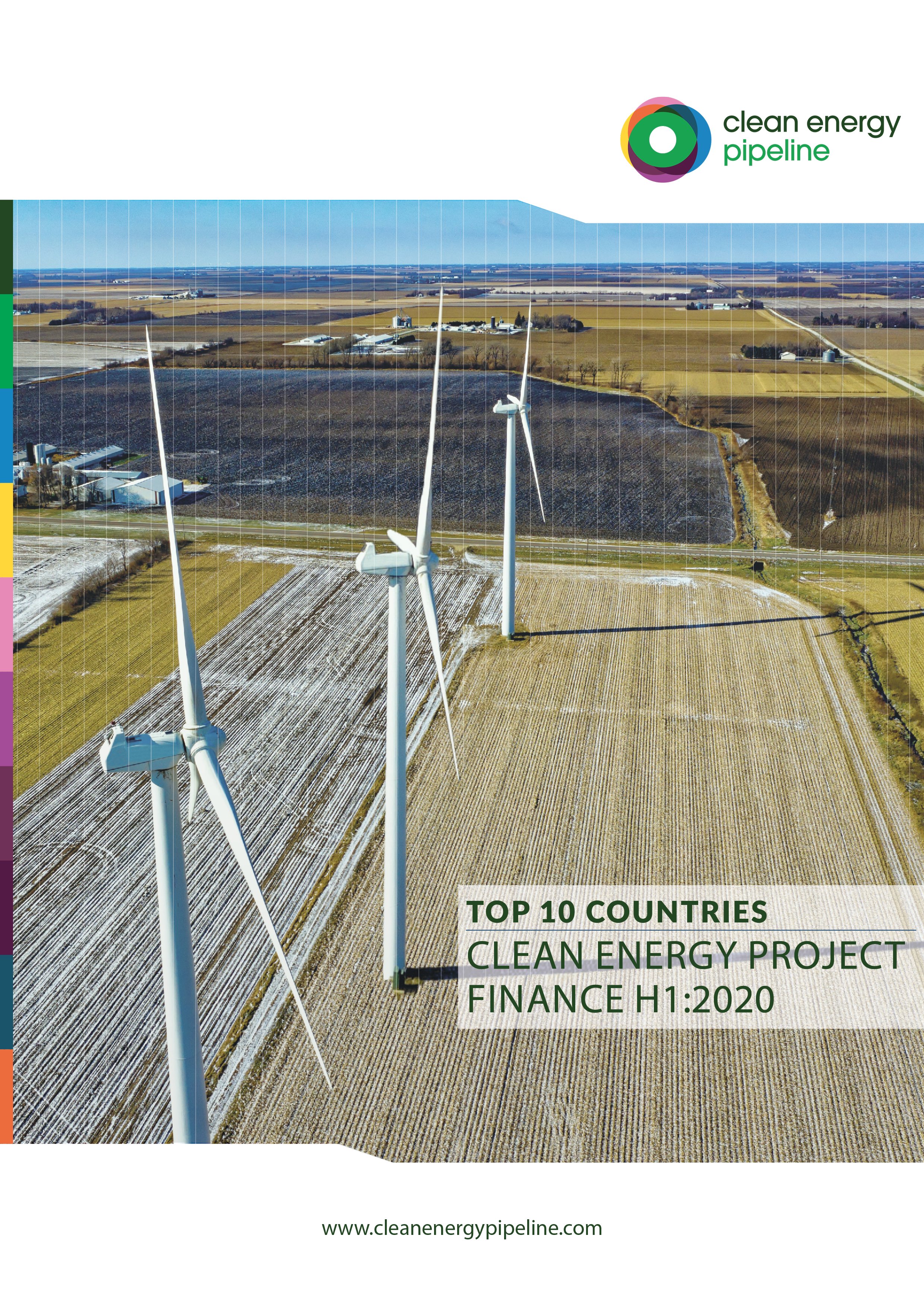 Market report cover image: Top Ten Countries for Clean Energy Project Finance in H1 2020