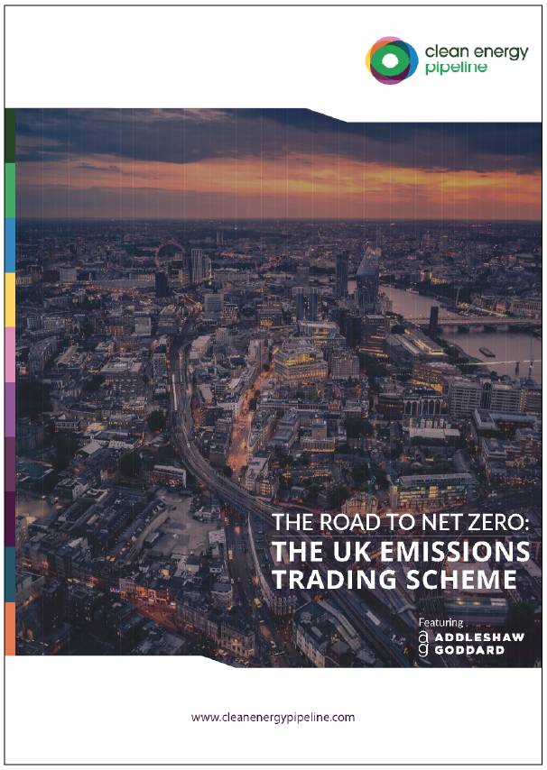 Market report cover image: The Road to Net Zero: The UK Emissions Trading Scheme, featuring Addleshaw Goddard