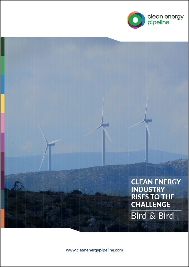 Market report cover image: Clean energy industry rises to the challenge