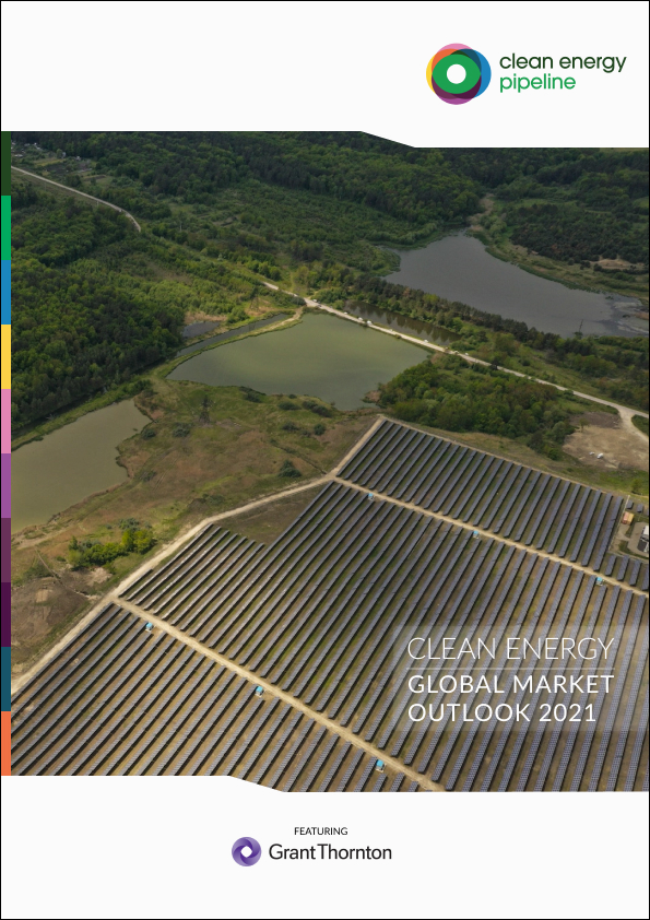Market report cover image: Clean Energy Global Market Outlook 2021